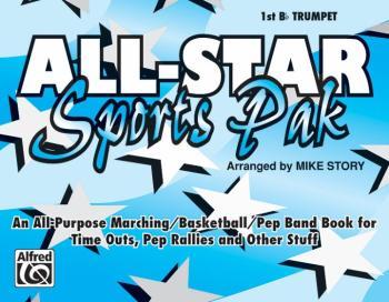 All-Star Sports Pak: An All-Purpose Marching/Basketball/Pep Band Book  (AL-00-MBF9508)
