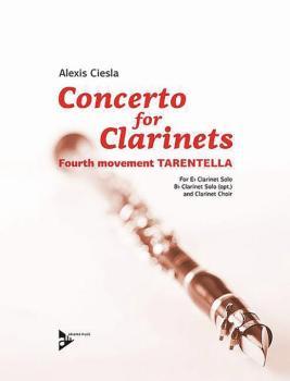Concerto for Clarinets, Fourth Movement: Tarentella: E-flat Clarinet S (AL-01-ADV8611)