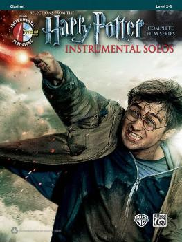 <i>Harry Potter</i>™ Instrumental Solos: Selections from the Complete  (AL-00-39214)