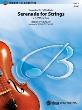 Serenade for Strings Mvt. IV Finale (Tema Ruso) (AL-00-31558S)
