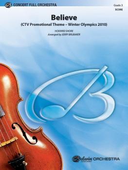 Believe (Winter Olympics 2010): CTV Promotional Theme (AL-00-33702S)