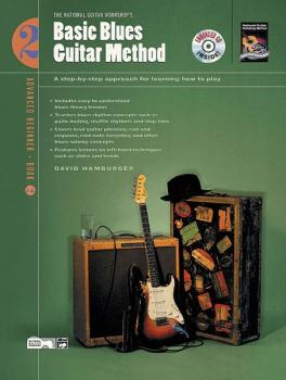 Basic Blues Guitar Method, Book 2: A Step-by-Step Approach for Learnin (AL-00-19441)