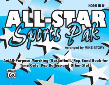 All-Star Sports Pak: An All-Purpose Marching/Basketball/Pep Band Book  (AL-00-MBF9511)