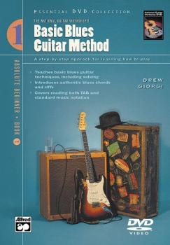 Basic Blues Guitar Method, Book 1: A Step-by-Step Approach for Learnin (AL-00-22892)