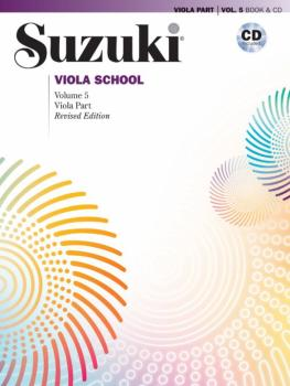 Suzuki Viola School Viola Part & CD, Volume 5 (Revised) (AL-00-45021)