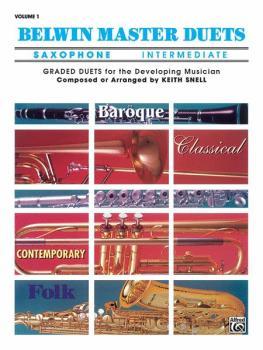Belwin Master Duets (Saxophone), Intermediate Volume 1 (AL-00-EL03253)