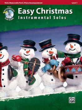 Easy Christmas Instrumental Solos, Level 1 for Strings (AL-00-33298)