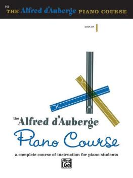 Alfred d'Auberge Piano Course: Lesson Book 6: A Complete Course of Ins (AL-00-509)
