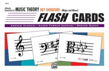 Alfred's Essentials of Music Theory: Flash Cards -- Key Signature (Maj (AL-00-24447)