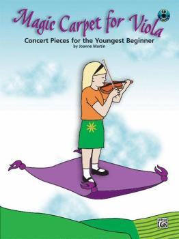 Magic Carpet for Viola: Concert Pieces for the Youngest Beginners (AL-00-27744)