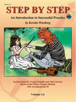 Step by Step 1A: An Introduction to Successful Practice for Violin (AL-00-20220X)