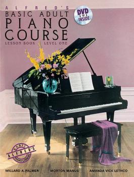 Alfred's Basic Adult Piano Course, Lesson Book 1 (AL-00-37745)