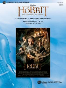 <i>The Hobbit: The Desolation of Smaug,</i> Suite from: I. Thrice Welc (AL-00-42080S)