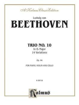 Piano Trio No. 10, Opus 44 (E-flat Major) (AL-00-K09716)
