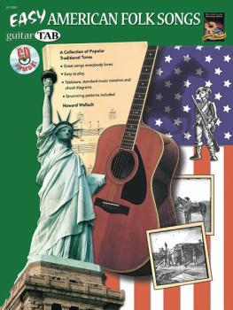 Easy American Folk Songs: A Collection of Popular Traditional Tunes (AL-07-1059)