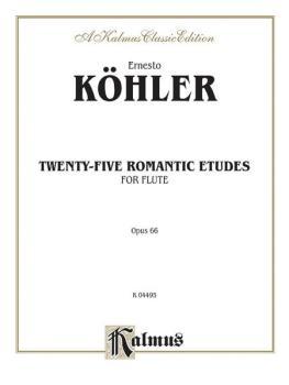 Twenty-five Romantic Etudes, Opus 66 (AL-00-K04495)