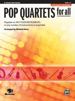 Pop Quartets for All (Revised and Updated): Playable on Any Four Instr (AL-00-30711)