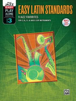 Alfred Jazz Easy Play-Along Series, Vol. 3: Easy Latin Standards (9 Ja (AL-00-38953)