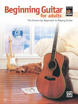 Beginning Guitar for Adults: The Grown-Up Approach to Playing Guitar (AL-00-40136)