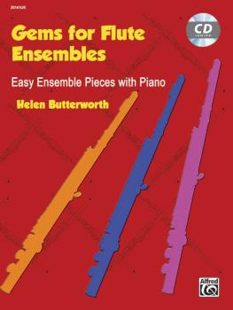 Gems for Flute Ensembles: Easy Ensemble Pieces with Piano (AL-00-20141UK)