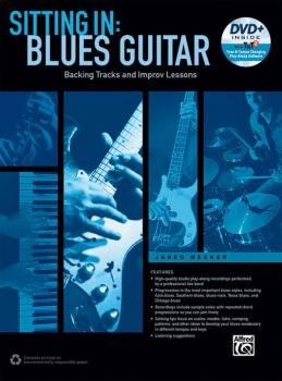 Sitting In: Blues Guitar: Backing Tracks and Improv Lessons (AL-00-44433)