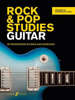 Rock & Pop Studies Guitar: 80 Progressive Studies and Exercises (AL-12-0571539076)
