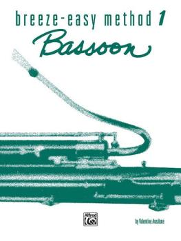 Breeze-Easy Method for Bassoon, Book I (AL-00-BE0002)