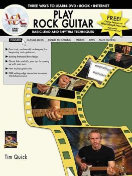 Play Rock Guitar: Basic Lead and Rhythm Techniques: Three Ways to Lear (AL-07-1129)