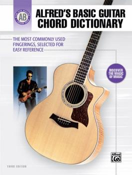 Alfred's Basic Guitar Chord Dictionary: The Most Commonly Used Fingeri (AL-00-28388)
