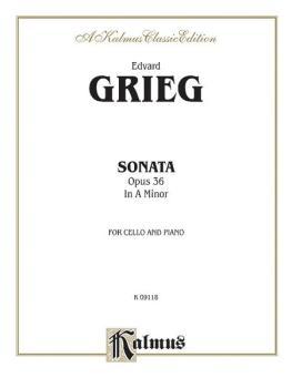 Cello Sonata in A Minor, Opus 36 (AL-00-K09118)