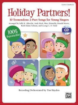 Holiday Partners!: 10 Tremendous 2-Part Songs for Young Singers (AL-00-35671)