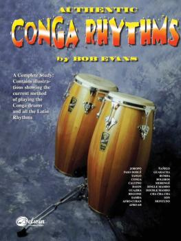 Authentic Conga Rhythms (Revised): A Complete Study: Contains Illustra (AL-00-HAB00012A)