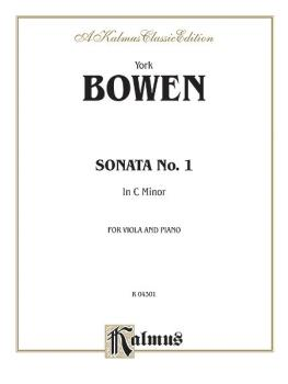 Sonata No. 1 in C Minor (AL-00-K04301)