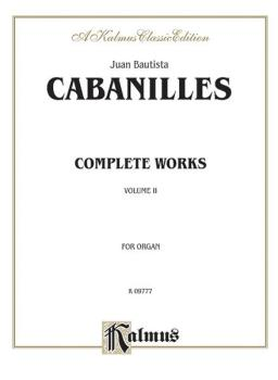 Complete Organ Works, Volume II (AL-00-K09777)