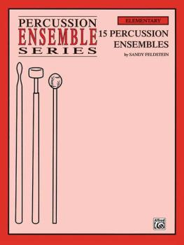 15 Percussion Ensembles (For 4 Players) (AL-00-PERC9606)