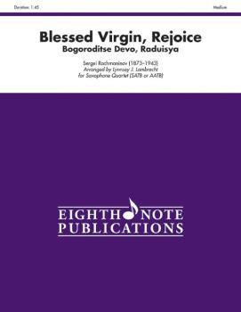 Blessed Virgin, Rejoice: Bogoroditse Devo, Raduisya (AL-81-SQ1168)