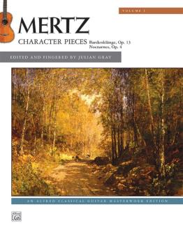 Mertz, Volume 1: Character Pieces (AL-00-43993)