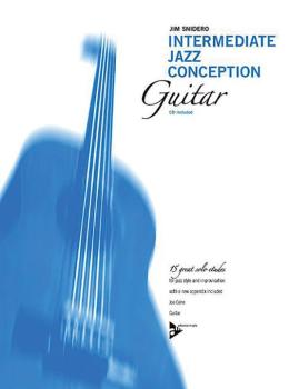 Intermediate Jazz Conception: Guitar (15 Great Solo Etudes) (AL-01-ADV14786)