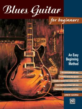 Blues Guitar for Beginners: An Easy Beginning Method (AL-00-14972)