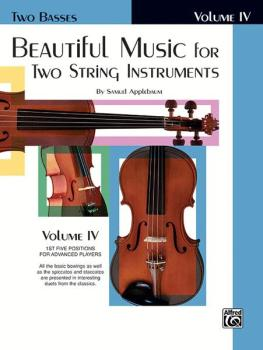 Beautiful Music for Two String Instruments, Book IV (AL-00-EL02229)