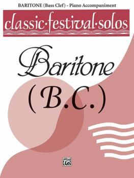 Classic Festival Solos (Baritone B.C.), Volume 1 Piano Acc. (AL-00-EL03745)