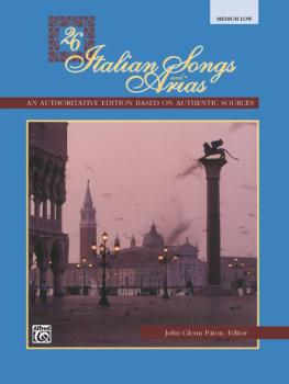 26 Italian Songs and Arias (AL-00-3403)