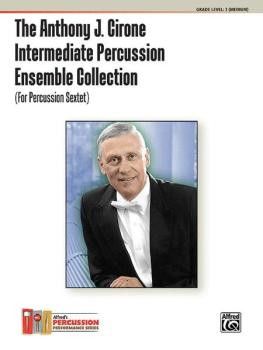 The Anthony J. Cirone Intermediate Percussion Ensemble Collection (For (AL-00-28271)