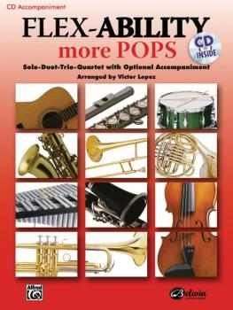 Flex-Ability: More Pops: Solo-Duet-Trio-Quartet with Optional Accompan (AL-00-30334)