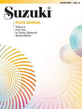 Suzuki Flute School Flute Part, Volume 8 (Revised) (AL-00-0691S)