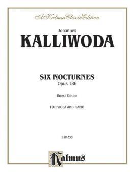 Six Nocturnes, Opus 186 (AL-00-K04330)