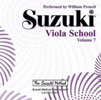 Suzuki Viola School CD, Volume 7 (AL-00-0548)