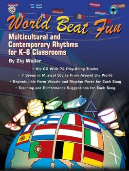 World Beat Fun: Multicultural and Contemporary Rhythms for K-8 Classro (AL-00-0674B)