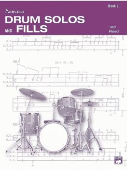 Drum Solos and Fill-Ins for the Progressive Drummer, Book 2 (AL-00-17310)
