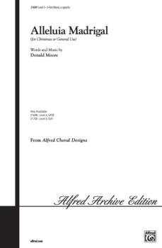 Alleluia Madrigal (AL-00-21699)